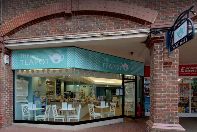 Flexible Credit Line for Ashford Tea Shop Logo